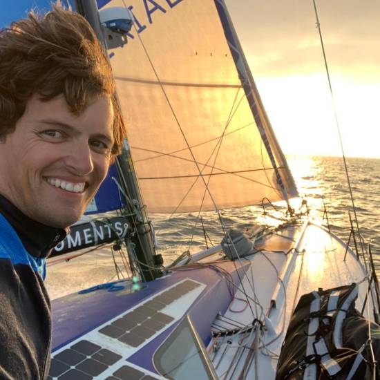 Voile : Stan Thuret, 11e de la Normandy Channel Race