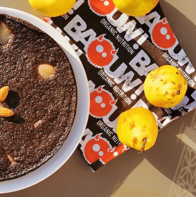 Recette sans gluten Moelleux Chocolat Fruits