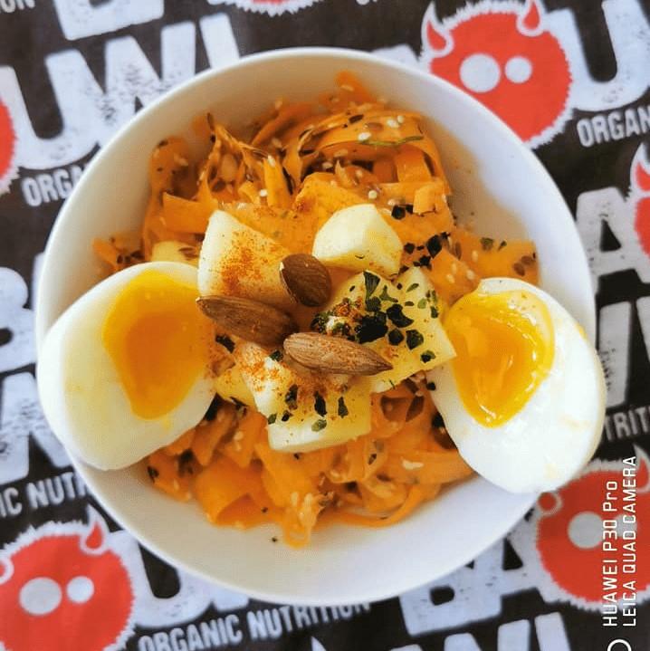 Recette tagliatelles carottes
